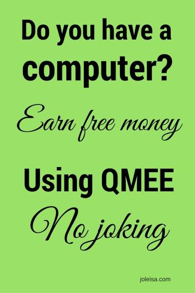 Qmee – Free Money