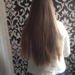 As part of her selfless act, this teen had her hair cut and donated to charity for children
