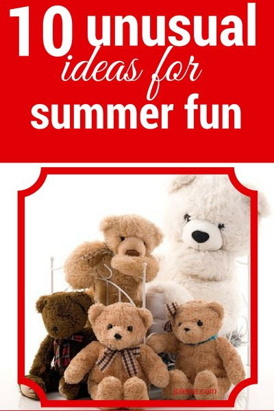 Ten frugal ways to keep your kids busy and you sane this summer