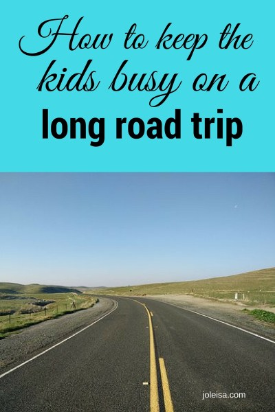 How to Keep the kids on a long road trip