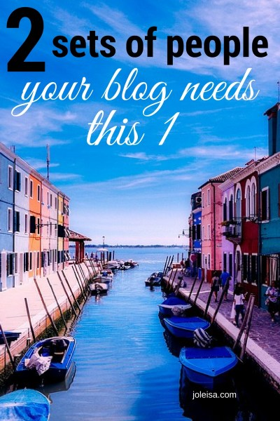 Nourish the right relationships for your blog