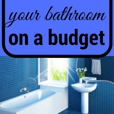 How to Clean your Bathroom on a Budget