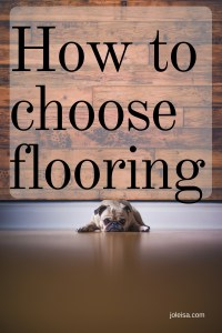 Choose the best flooring option for you and your family. Thanks to modern times, the choices are better.