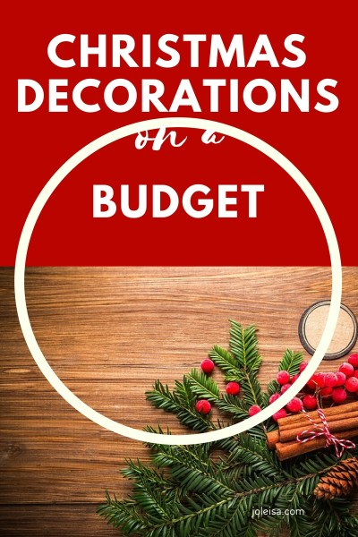 Decorate on a Budget this Christmas