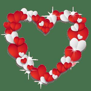 funny Valentine hearts