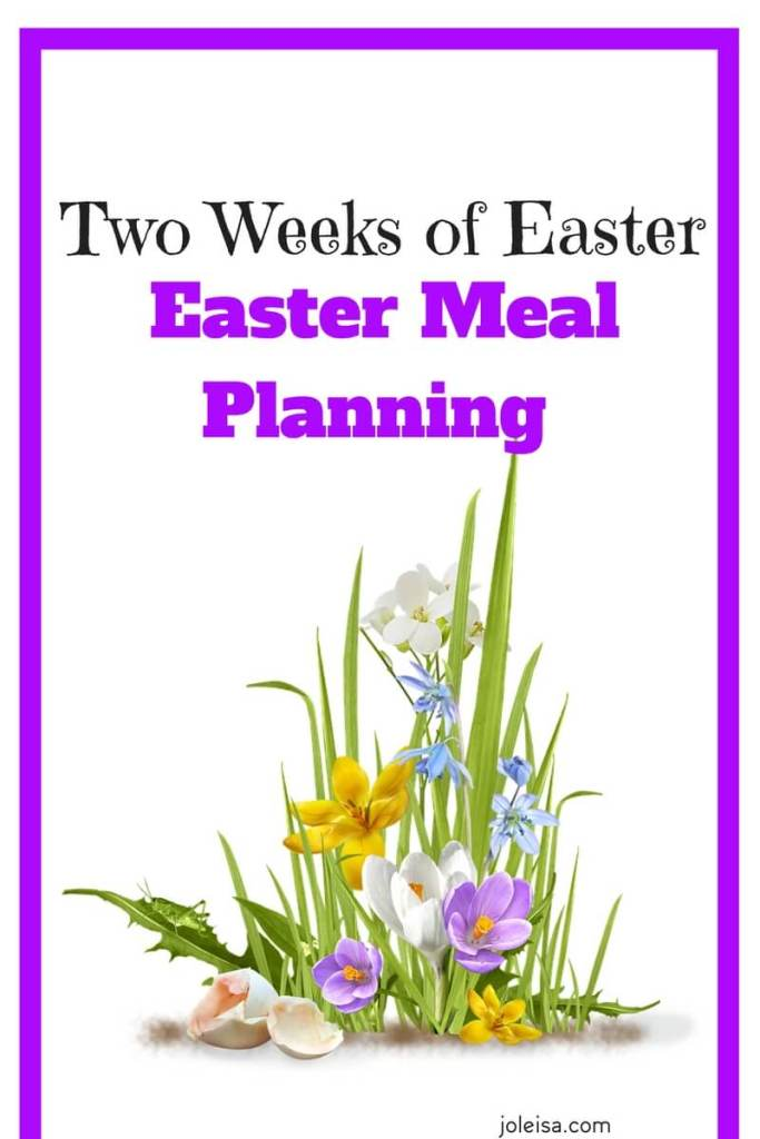We are excited to share our Easter meal planning with you. The kids are on break from school so their ideas will feature big in the foods we plan, shop for, and cook. There are so many advantages to meal planning apart from saving money! You know what exactly goes into the foods you consume.