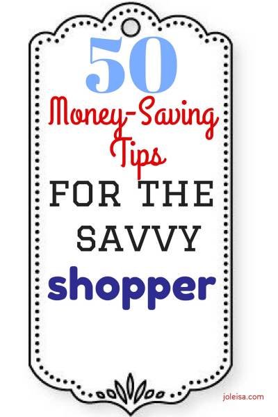 Fifty Money-Saving Tips for the Savvy Grocery Shopper