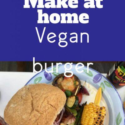 Delicious Make at Home Vegan Burgers