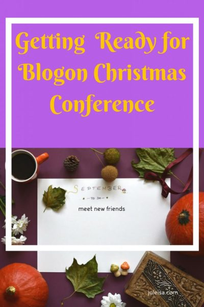 Getting Ready for the next Blogging Conference