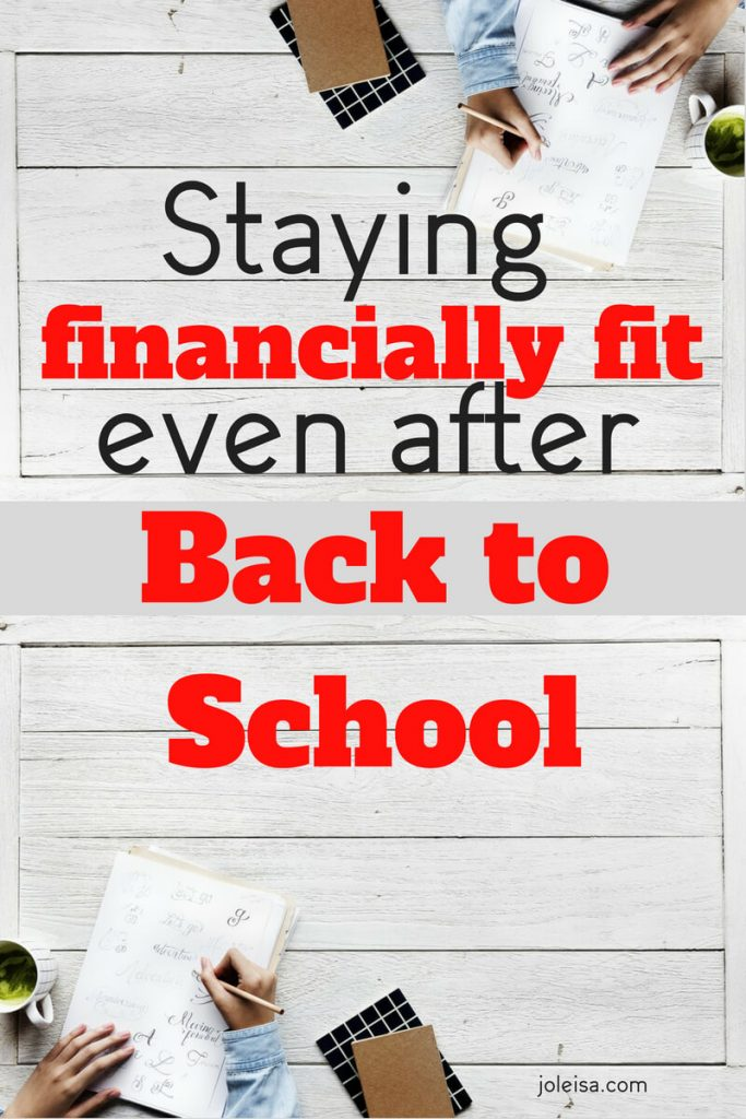 Ater the back to school dust has settled, we all do need a reality check and to get our finances back in order. These ten tips do just that.