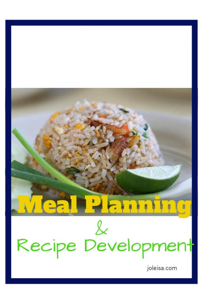 This week we did some recipe development as part of our meal planning. You can do it too. Swap like for like ingredients and develop your cooking skills.