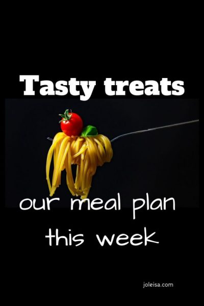 We had some Tasty Treats This Week!