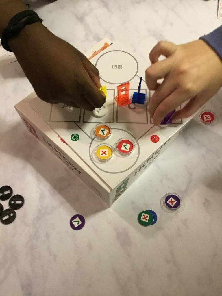 Tonight we had a family games night. This featured the iKnow family game which we got some time ago but didn't get around to playing. See what we thought.