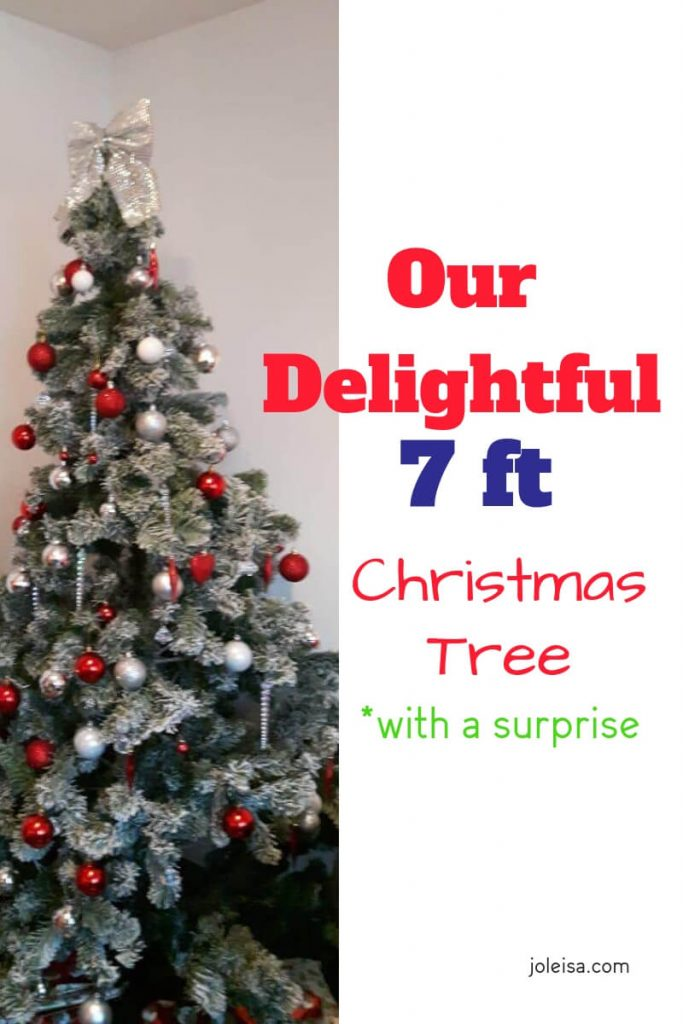 Watch how we plan a surprise for the kids this year with our 7ft Christmas tree! You might want to try it out yourselves at home. Pin for later.