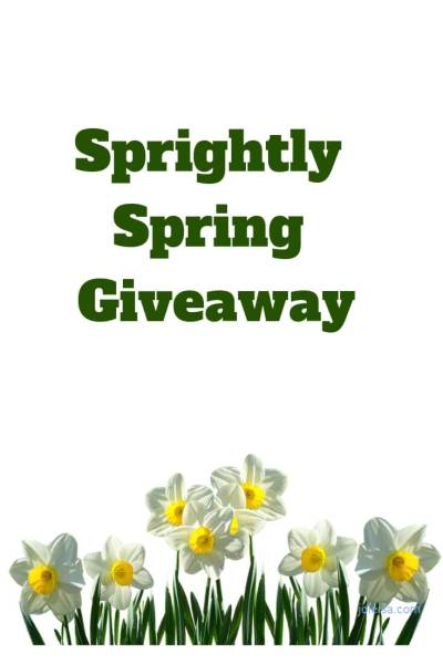 Sprightly Spring Giveaway