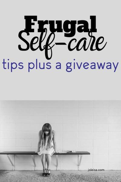 Frugal Self-Care Tips plus a Free Hair Removal System
