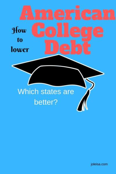 Can you Save on American College Debt by Moving to a Different State?