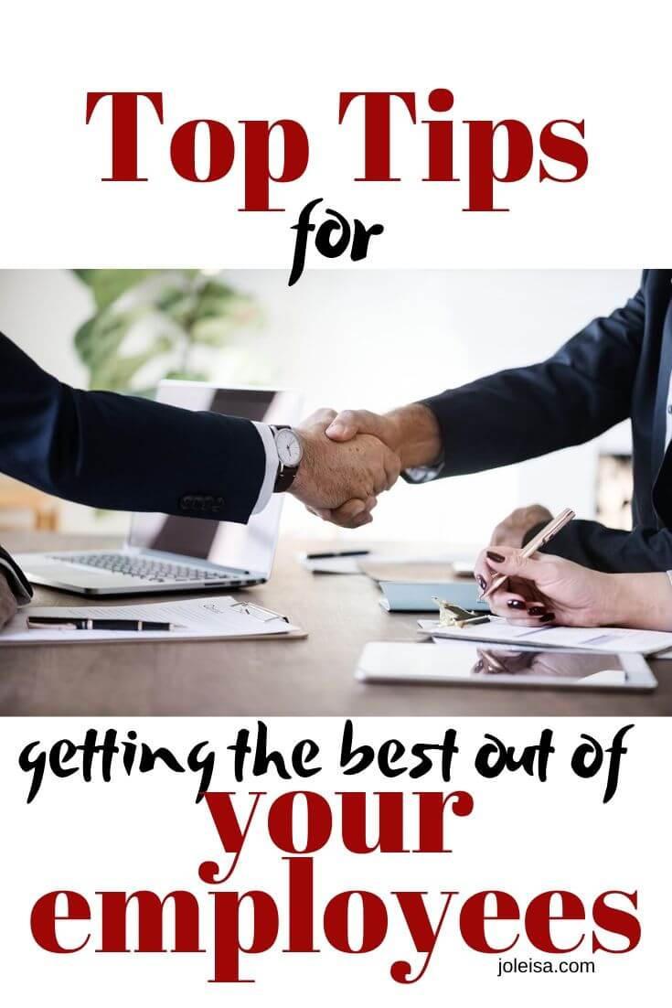 getting the best out of your employees