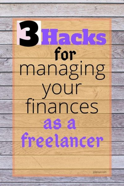 Three Hacks for Managing Your Finances When you Work From Home