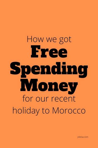 Our Amazing Holiday With Free Spending Money