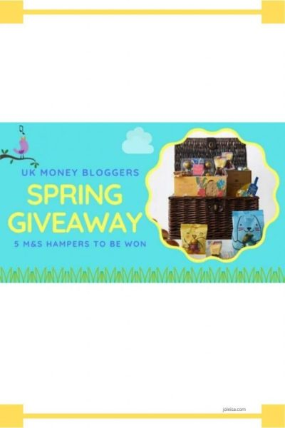 Spring Giveaway From the top UK Money Bloggers