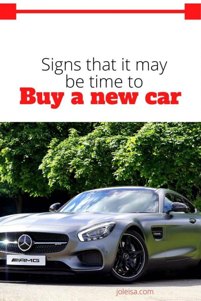 shiny new car