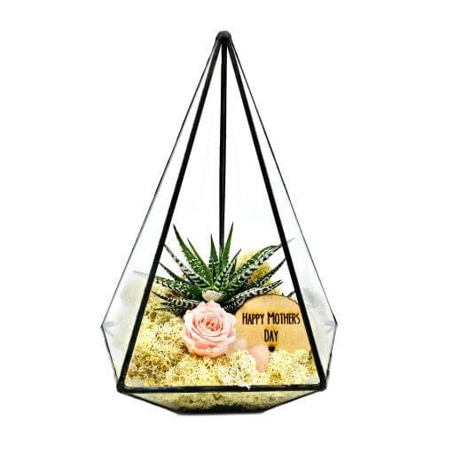 mothers day glass terranium