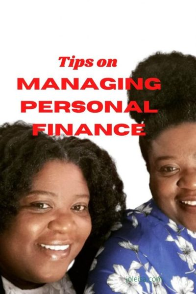 Tips on Managing Personal Finance