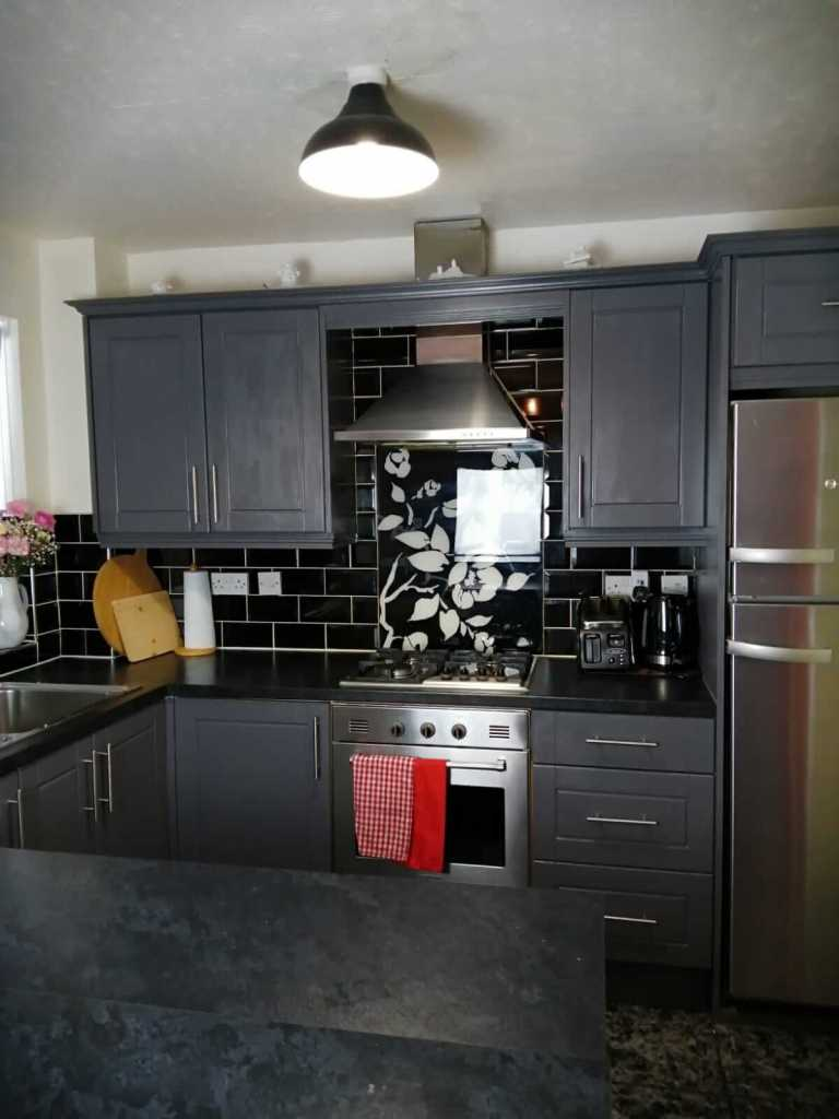 a small kitchen as part of home renovationsh