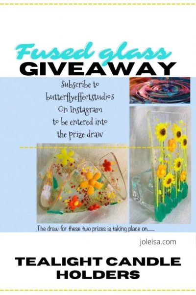Fused Glass Piece Giveaway