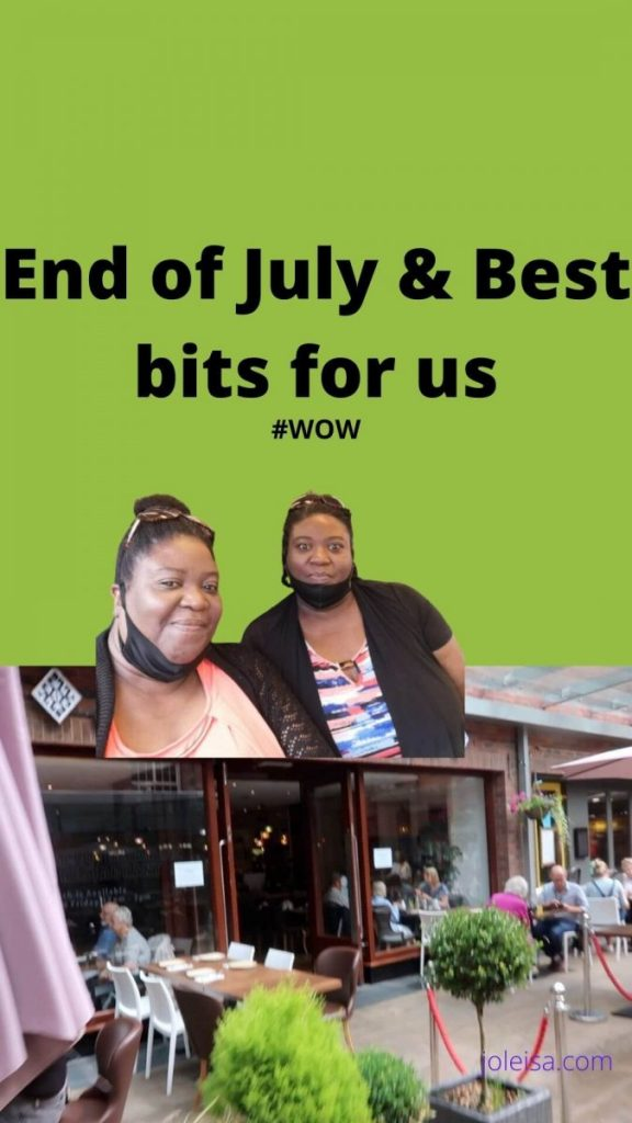 end of july and best bits for joleisa
