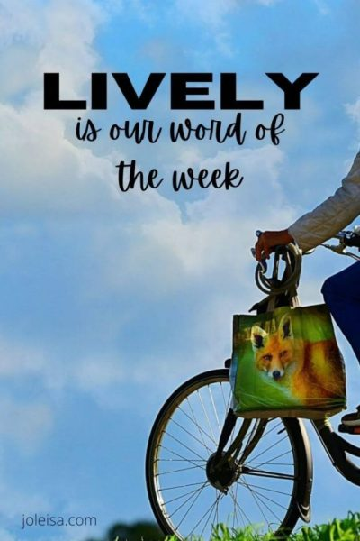 Lively is our Word of the Week