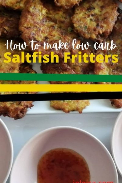 How to make a Healthier Version of Jamaican Saltfish Fritters