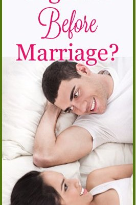 Should Christians Live Together Before Marriage?