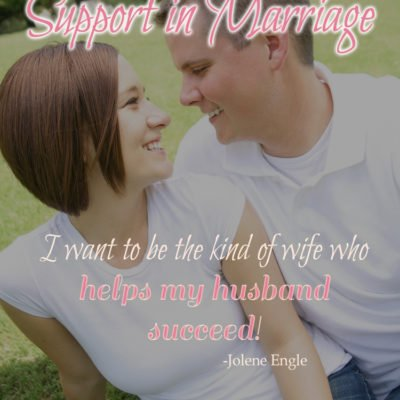 The Importance of Support in Marriage