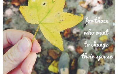 Day 26:  for those who want to change their spouse