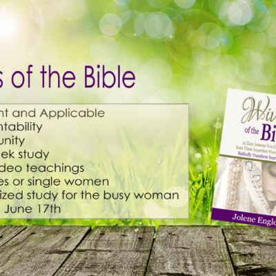 Bible Study of the Wives of the Bible