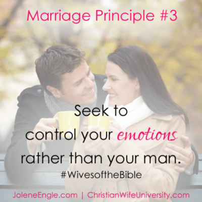 Marriage Principles #3 and #4