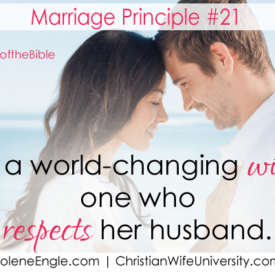 Marriage Principle #21 and #22