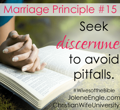 Marriage Principle #15 and #16