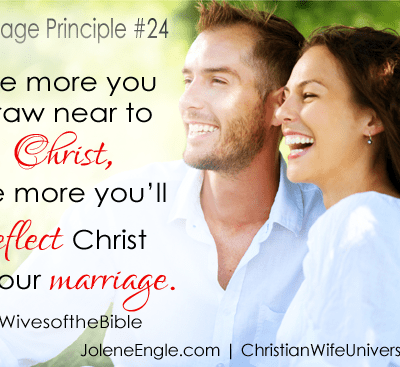 Marriage Principle #23 and #24
