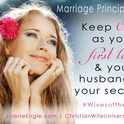 Marriage Principle #25