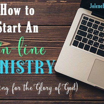 How to Start an On-line Ministry (Blog)