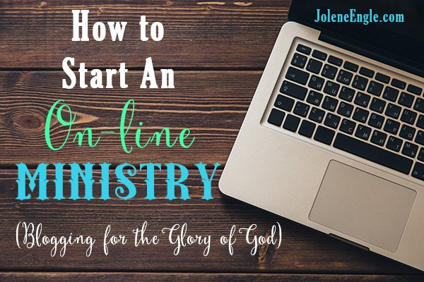 Is God calling you to start an on-line ministry? Maybe your heart is to reach others via the internet but you're not sure where to begin. Find out here!