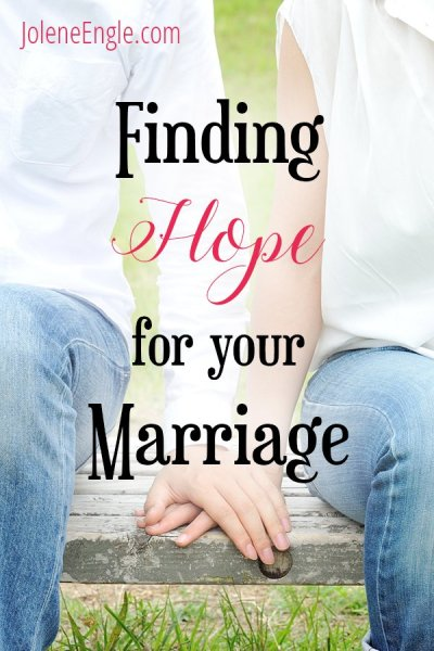 Finding Hope for Your Marriage