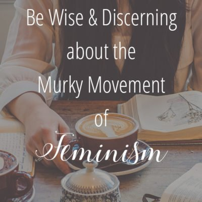 Be Wise and Discerning About the Murky Movement of Feminism