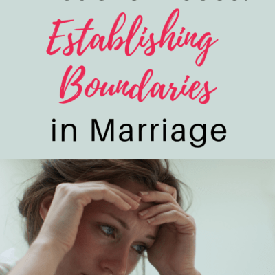 Verbal and Emotional Abuse: Establishing Boundaries in Marriage