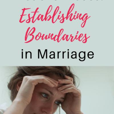 Verbal and Emotional Abuse: Establishing Boundaries in Marriage
