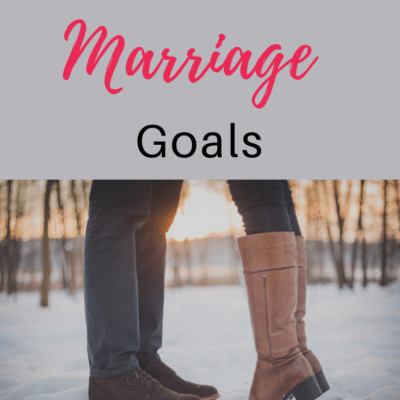 Christ-centered Marriage Goals