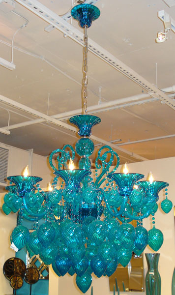 Tourquoise Chandelier